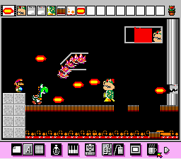 Mario Paint (Joystick) - Mario and Yoshi V.S Bowser - User Screenshot
